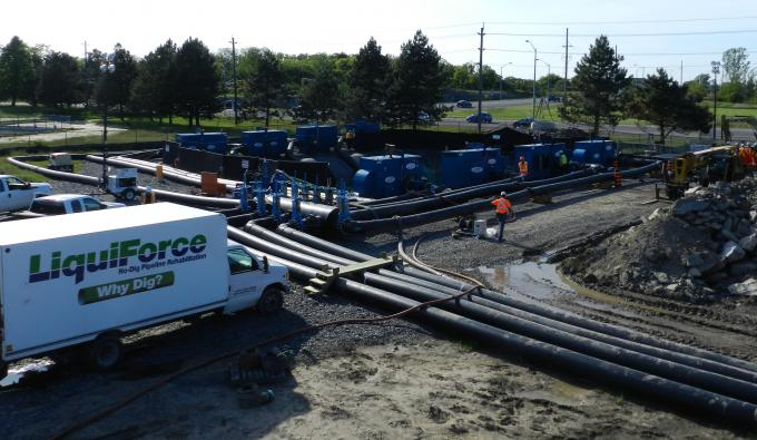 Teamwork in Rehabilitating a Critical Large Trunk Sewer