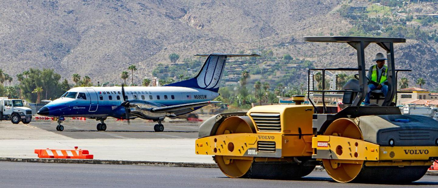 Palm Springs Airport Apron Rehabilitation
