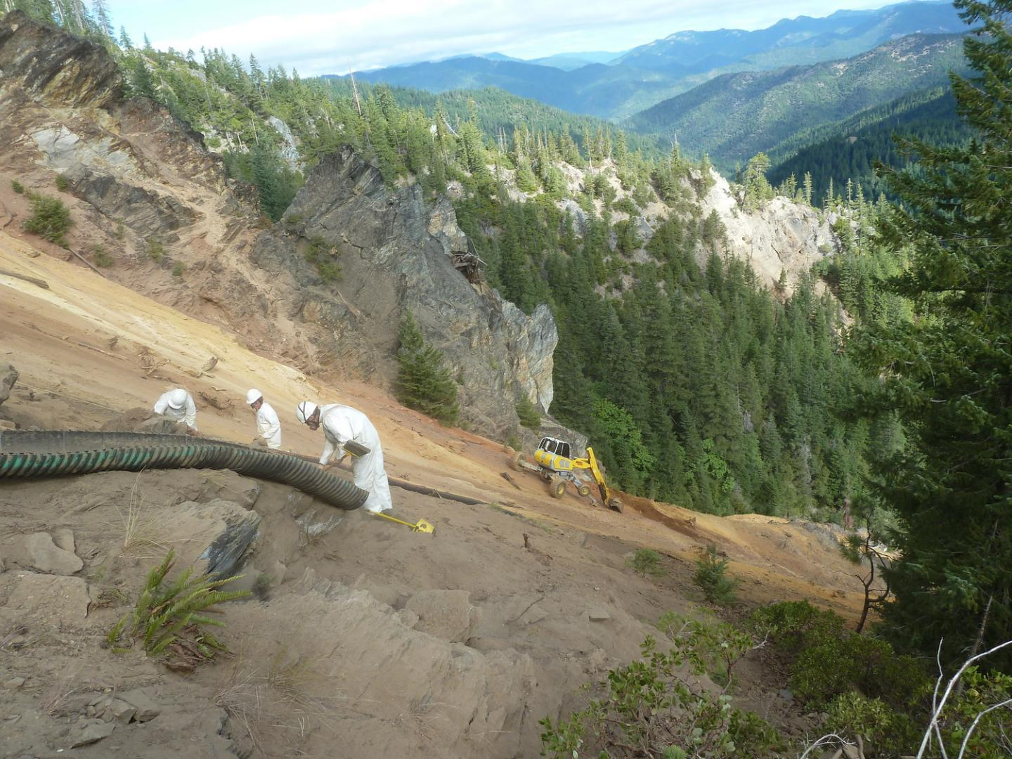 Blue Ledge Mine Remediation - Siskeyou, CA